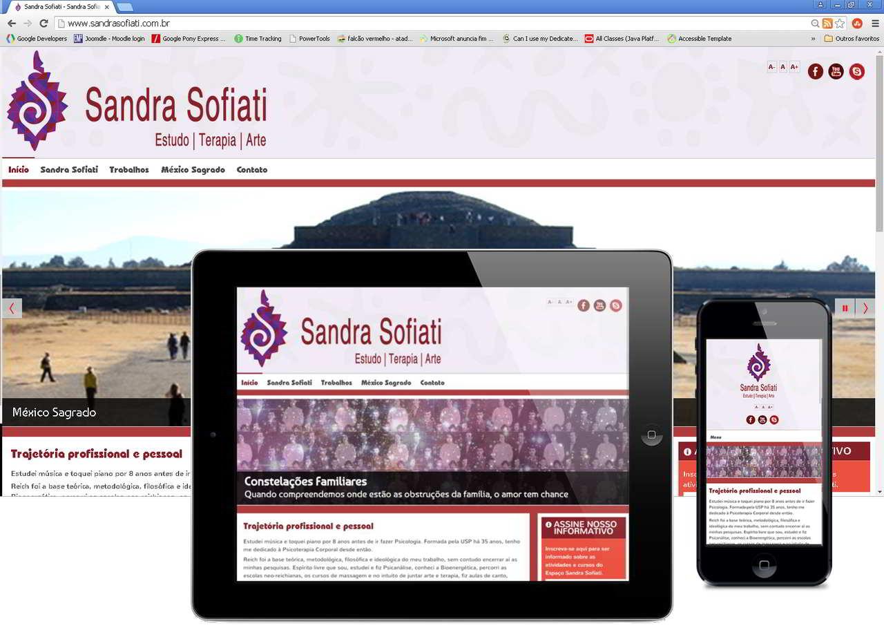 Website Híbrido Sandra Sofiati atual